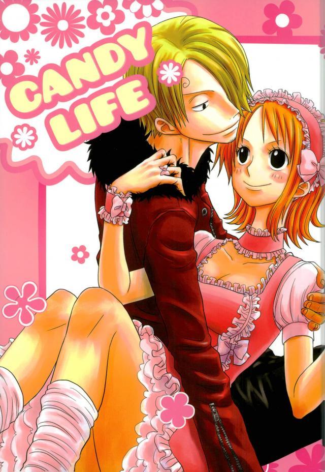 【ワンピース】仲良しなサンジとナミの微笑ましいイチャラブストーリー!!