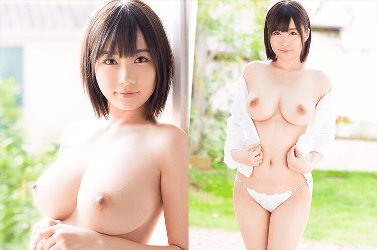 【河合あすな エロ画像】Hカップ美巨乳グラドルがAVデビュー!200枚
