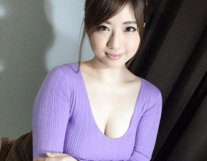 【中村知恵 エロ画像】Hカップの爆乳人妻系AV女優!200枚