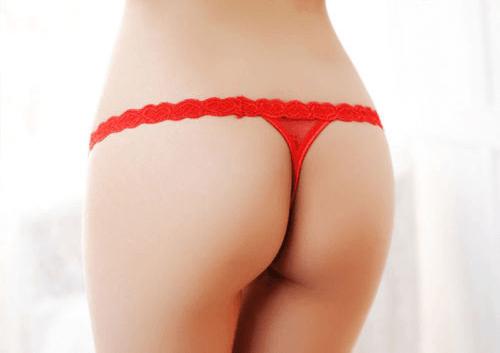 赤Tバックをはいた外国人のエロ画像まとめ 57枚