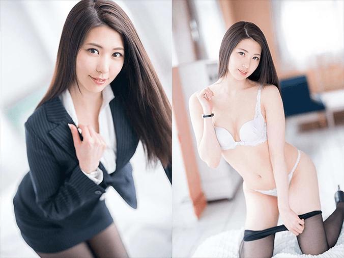 【山岸逢花 エロ画像】元地方局アナのBカップAV女優!200枚