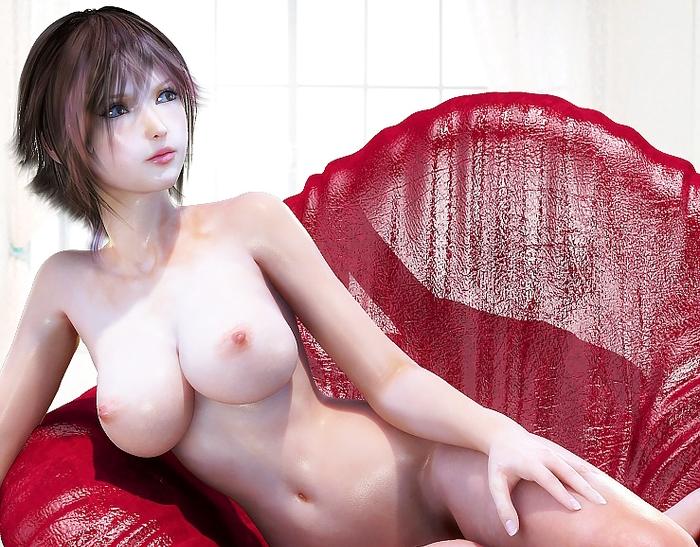 3DCG美女のエロ画像 80枚