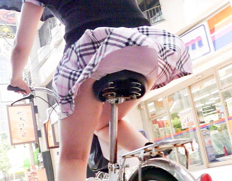 自転車のサドルとお尻のコラボ画像 29枚