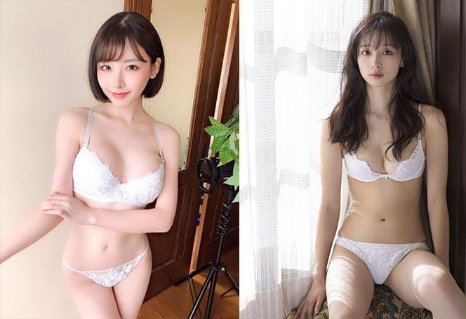 清純な女の子が着てそうな白下着のエロ画像 32枚